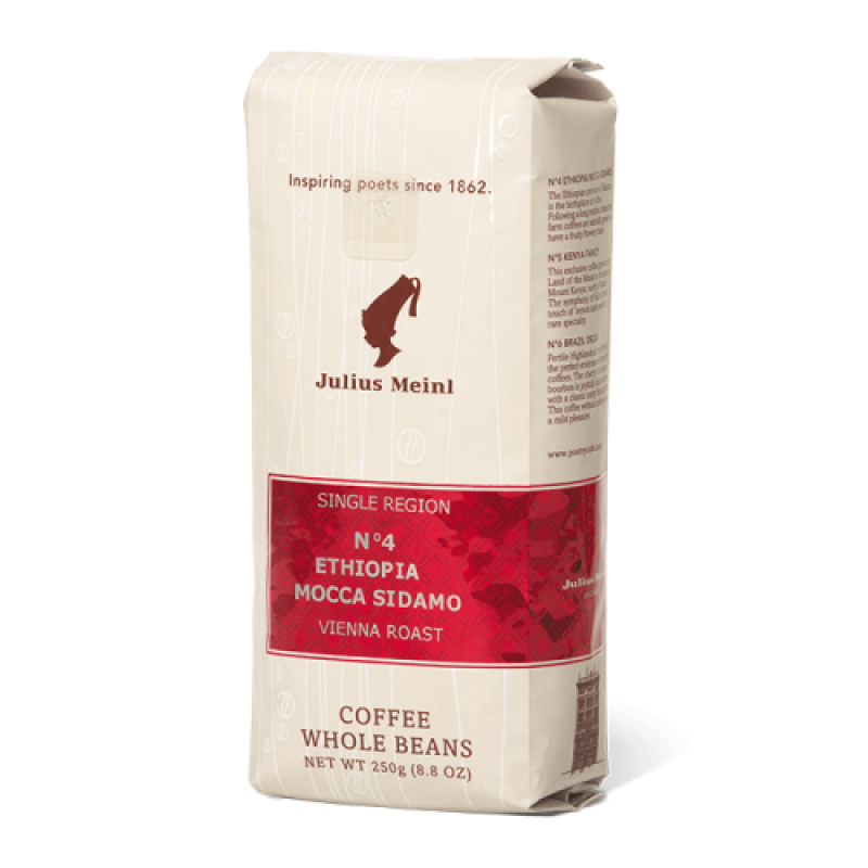 Julius Meinl - SINGLE REGION No4 Ethiopia Mocca Sidamo / МоноКофе №4 Эфиопия 250гр